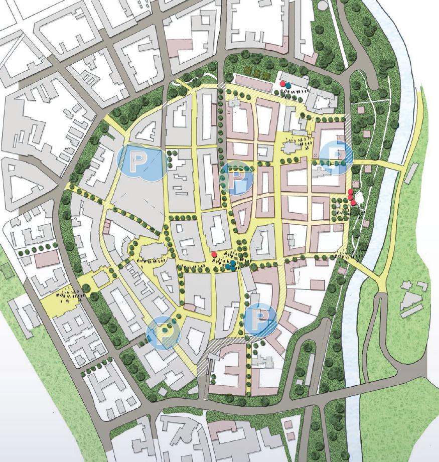 Stadt-Raum-Erlebnisse – Start und Ziel